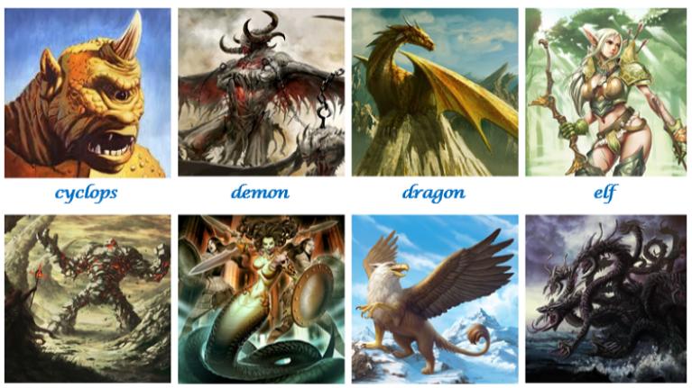 Bạn là sinh vật huyền thoại nào?