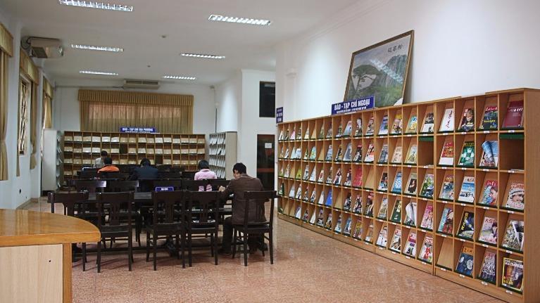 Trắc nghiệm trong thư viện: Giải đáp cách suy nghĩ của bạn nhé!