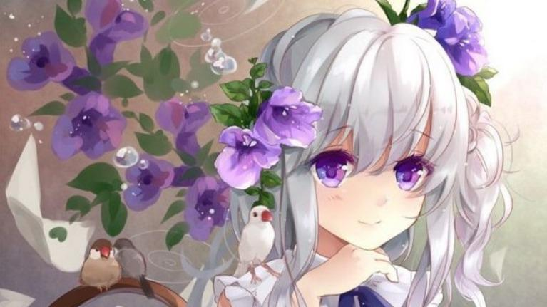 Đoán tên các nhân vật nữ tóc trắng trong anime (Phần 2)