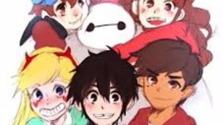 Khi các nhân vật hoạt hình Mĩ vẽ theo phiên bản Anime,bạn có nhận ra ?