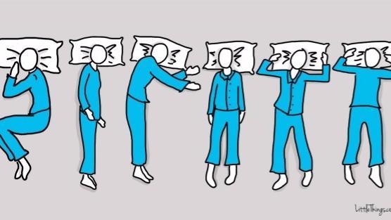 Tư thế ngủ vạch trần tất tần tật về bạn.