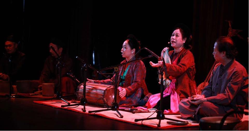 Các loại hình sân khấu dân gian Việt Nam