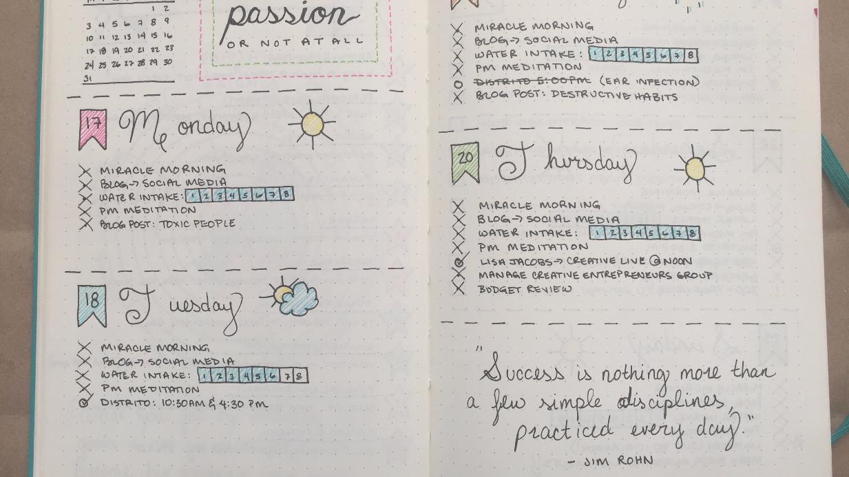 Bạn có biết về nghệ thuật quản trị thời gian Bullet Journal chưa?