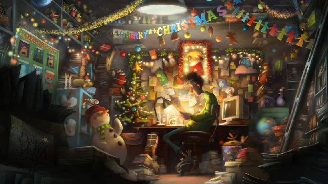 Ông già Noel tặng bạn món quà thần kì nào?