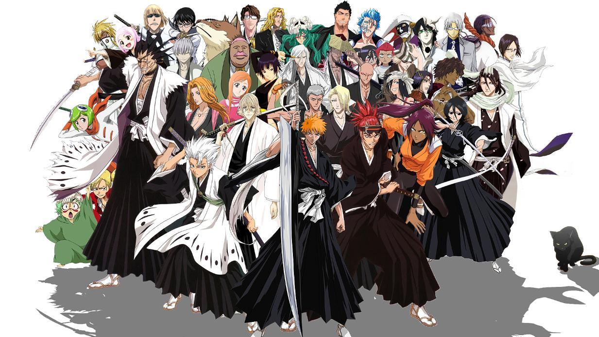 Bạn là Tử Thần (Shinigami) nào trong Bleach?