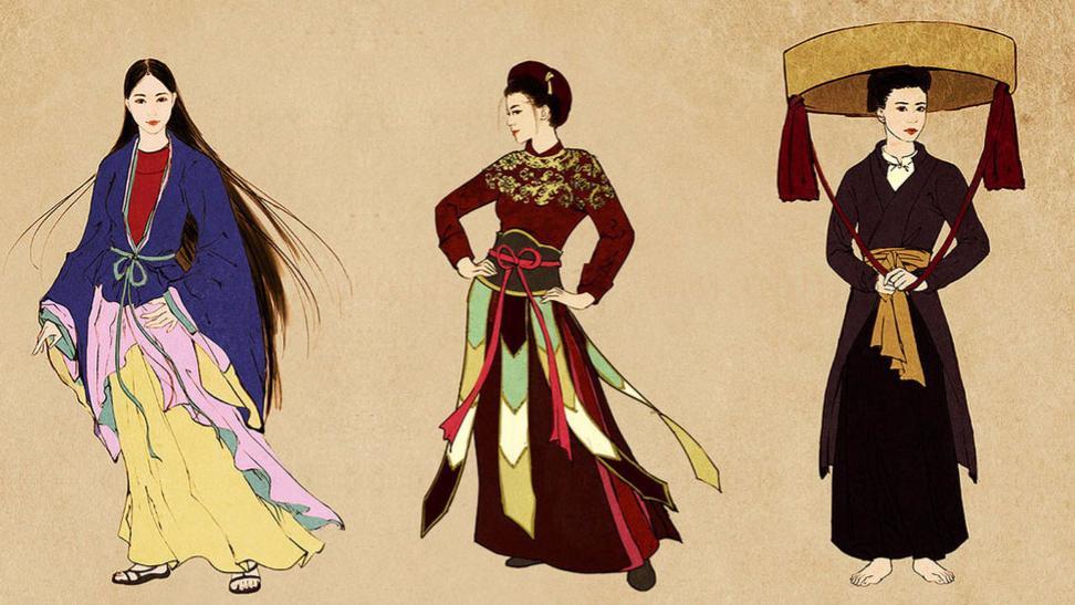 Những bộ trang phục truyền thống của các nước!
